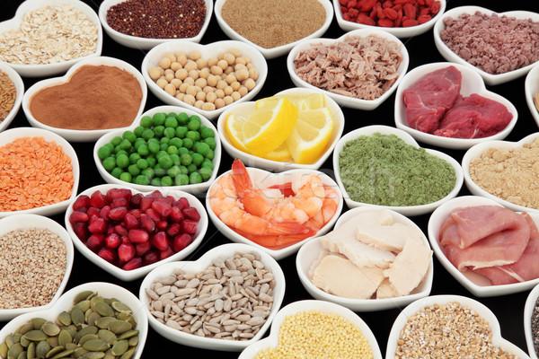 Sani nutrizione salute alto proteine Foto d'archivio © marilyna