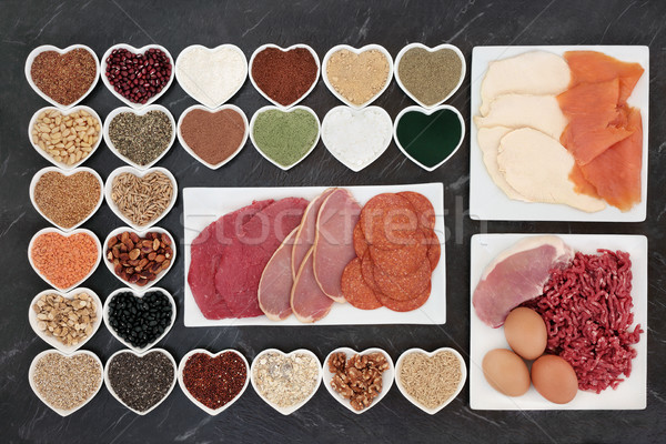 Health Food for Body Builders Stock photo © marilyna