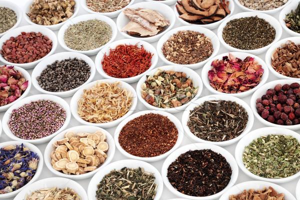 Herb Teas for Good Health Stock photo © marilyna