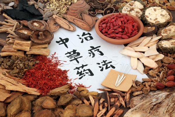 Chinese Alternative Medicine Stock photo © marilyna