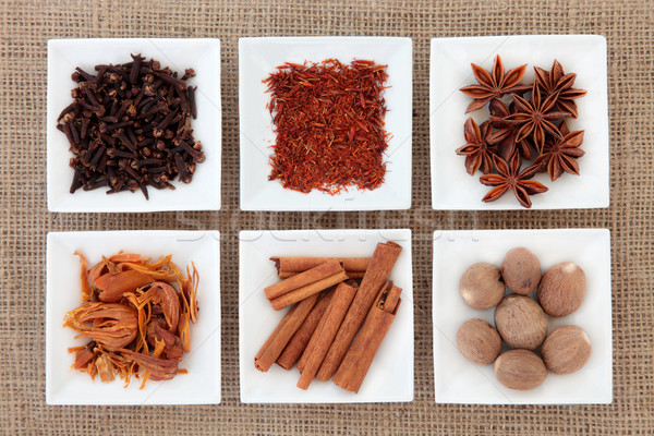 Spice Sampler Stock photo © marilyna