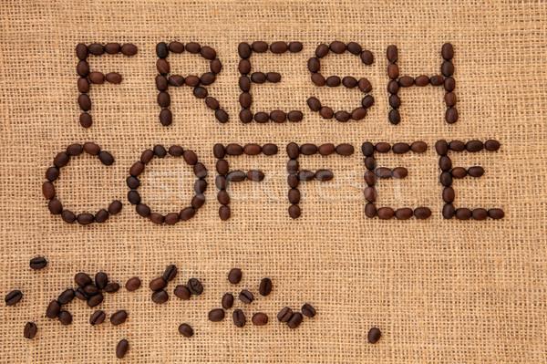 Fresh Coffee   Stock photo © marilyna