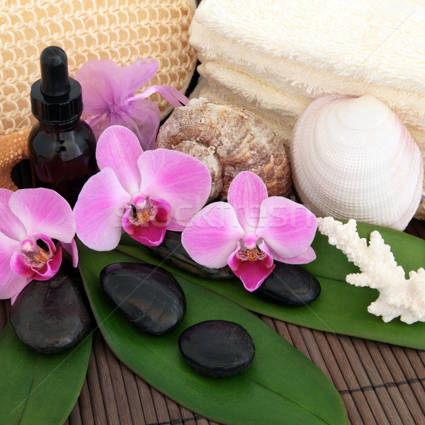 Exotic Spa Treatment Stock photo © marilyna