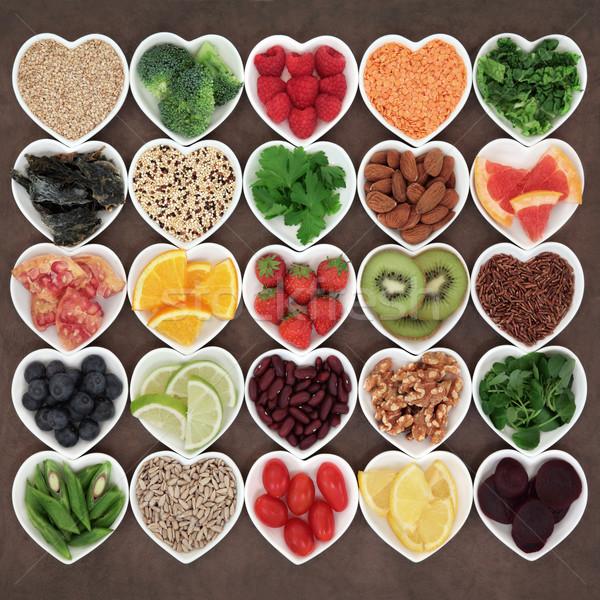 Szépség detoxikáló étel szuper egészség diéta Stock fotó © marilyna