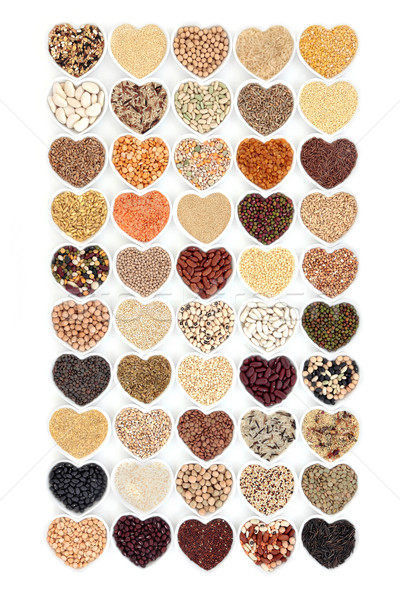 Grain Food and Vegetable Pulses Sampler Stock photo © marilyna
