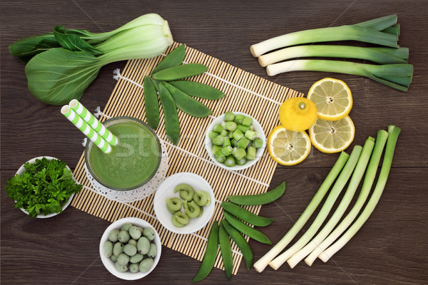 Macrobiotic Japanese Detox Food Stock photo © marilyna