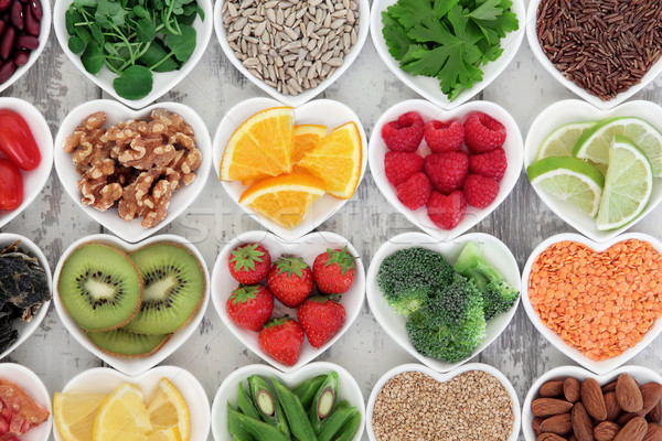 ストックフォト: 健康な心臓 · 食品 · スーパー · 健康 · ダイエット