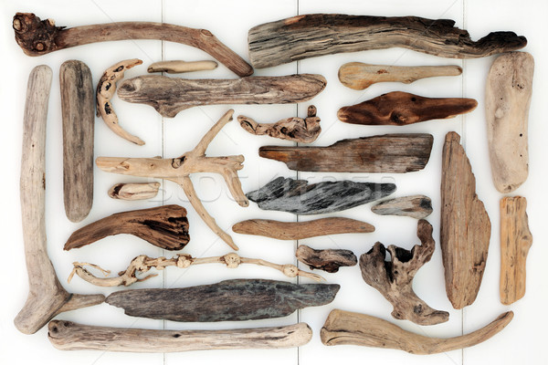 Driftwood Abstract Background Stock photo © marilyna