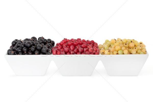 Fruits d'été groseille blanche groseille fruits Photo stock © marilyna