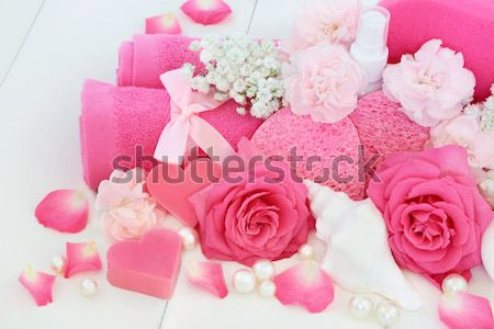 Spa and Ex foliation Beauty Treatment Stock photo © marilyna