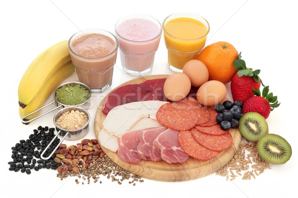 Santé alimentaire élevé protéines Photo stock © marilyna