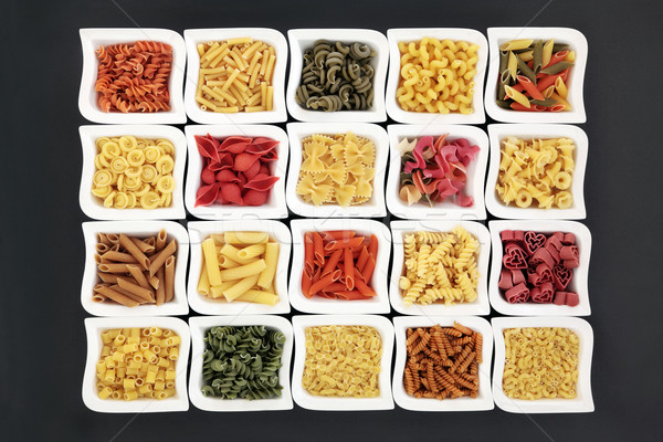 Dried Pasta Varieties Stock photo © marilyna
