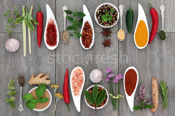 Herbs and Spices Stock photo © marilyna