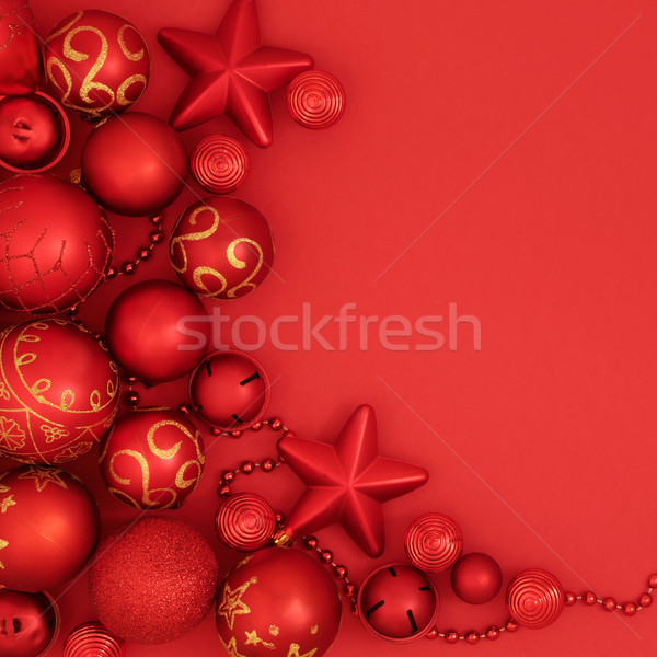 Christmas Bauble Background Stock photo © marilyna