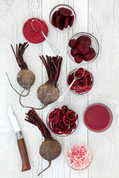 Beetroot Vegetable Super Food Stock photo © marilyna