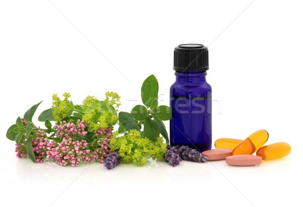 Alternative Herb Therapy Stock photo © marilyna