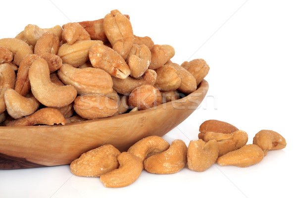 Salted Cashew Nuts Stock photo © marilyna