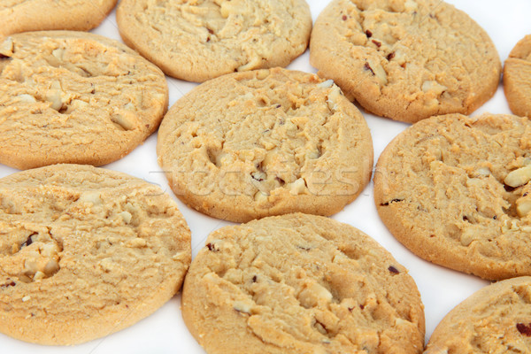 White Chocolate Chip Cookies Stock photo © marilyna