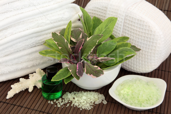 Herb Spa Therapy Stock photo © marilyna