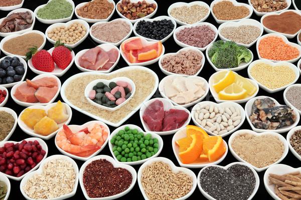 Santé élevé protéines Photo stock © marilyna