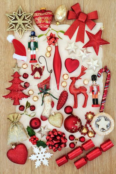 Stock photo: Christmas Festive Decorations