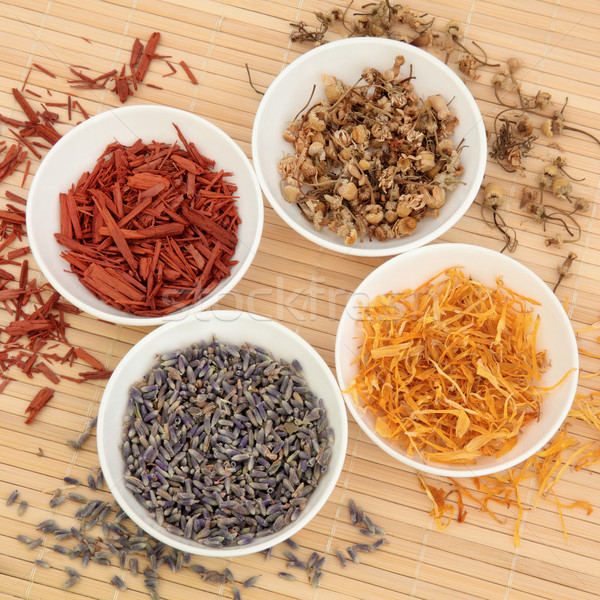 Herb and Spice Selection Stock photo © marilyna