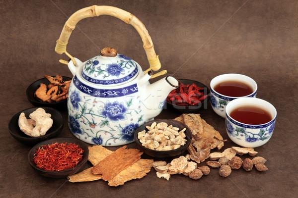 Herb Tea Selection  Stock photo © marilyna