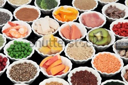 Healthy Fruit Snacks Stock photo © marilyna