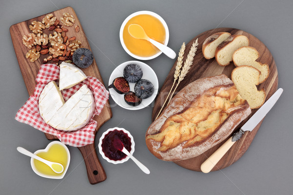 Rustic French Snack Food Stock photo © marilyna