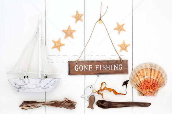 Gone Fishing   Stock photo © marilyna