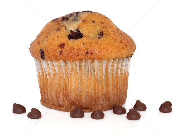 Chocolate Chip Muffin Stock photo © marilyna