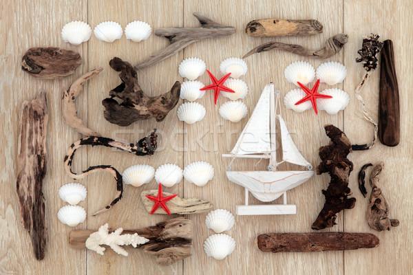 Stock photo: Beach Treasures