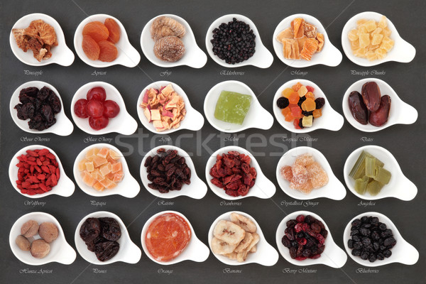 Dried Fruit Sampler Stock photo © marilyna