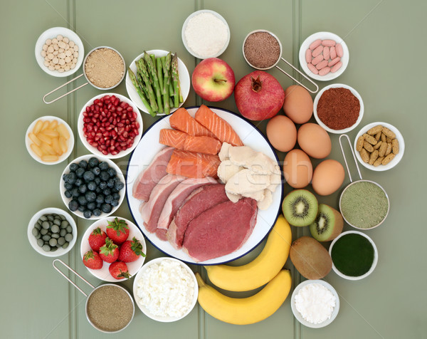 Super Food for Body Builders Stock photo © marilyna