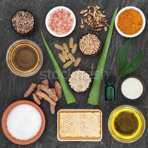 Skincare Ingredients for Skin Disorders Stock photo © marilyna