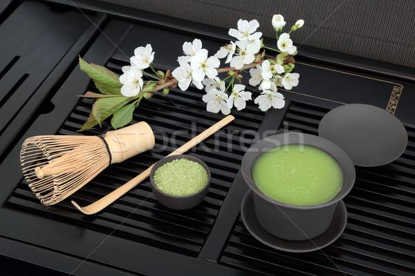 Japanese Green Matcha Tea   Stock photo © marilyna