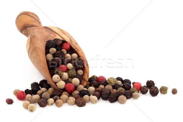Peppercorns Stock photo © marilyna