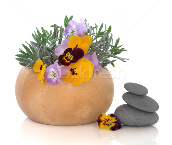 Herb and Flower Therapy Stock photo © marilyna