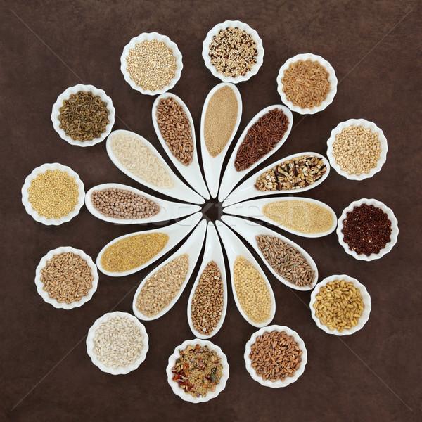 Grain Food Platter Stock photo © marilyna