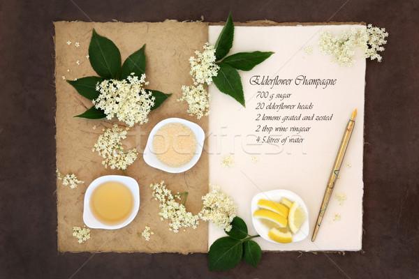 Elderflower Champagne  Stock photo © marilyna