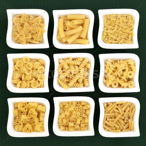 Italian Pasta Varieties Stock photo © marilyna