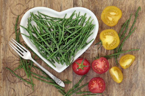 Samphire and Tomato Healthy Diet Food  Stock photo © marilyna
