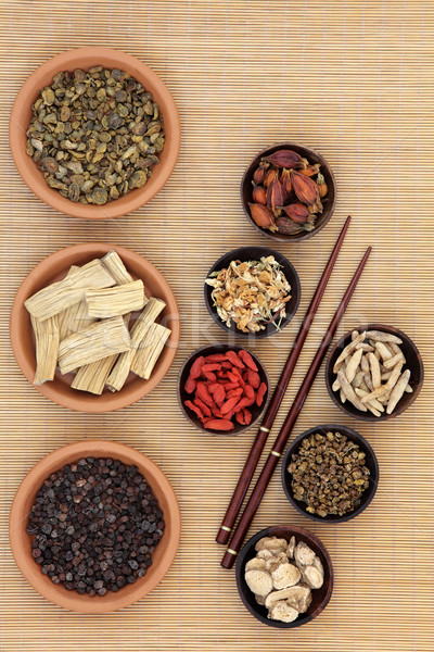 Chinese Healing Herbs Stock photo © marilyna