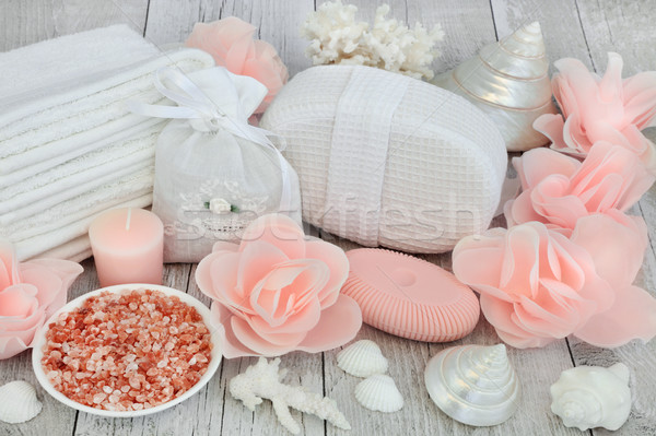 Skincare Ex floiating Beauty Treatment Stock photo © marilyna