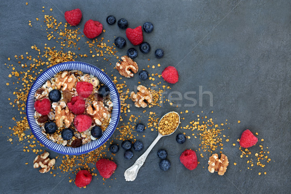 Healthy Macrobiotic Breakfast Stock photo © marilyna