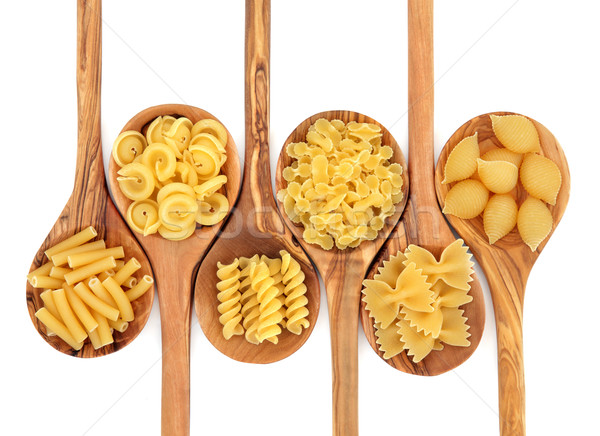 Stock photo: Pasta Varieties