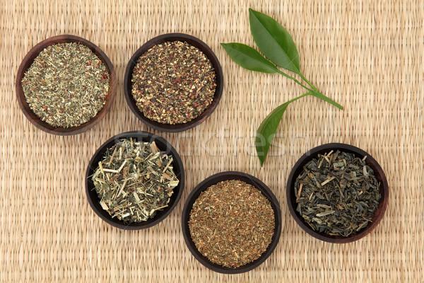 Green Teas Stock photo © marilyna