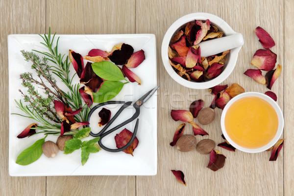 Love Potion Herbs Stock photo © marilyna