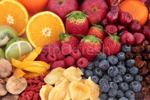 Fruit Superfood Selection Stock photo © marilyna