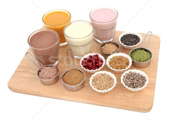 Salute alimentare proteine cioccolato Foto d'archivio © marilyna